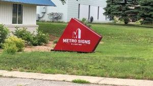 Oak Street Health Fenkel Detroit Metro Signs Amp Lighting