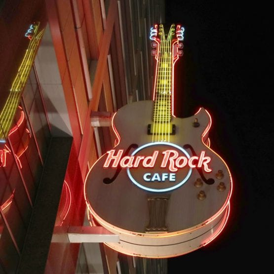Hard Rock outside