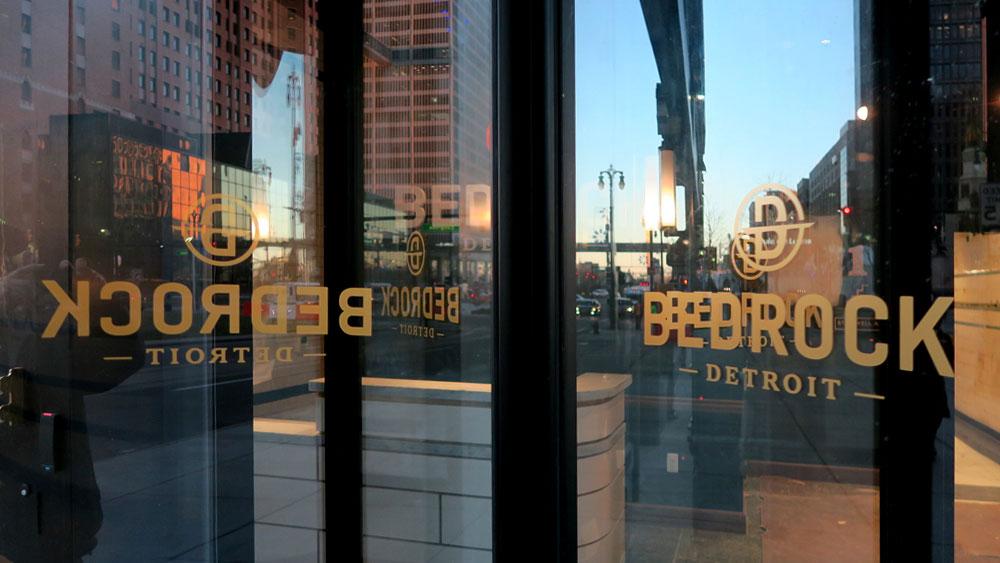 Bedrock Detroit Door Vinyl