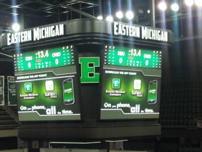 Eastern Michigan Center Hung