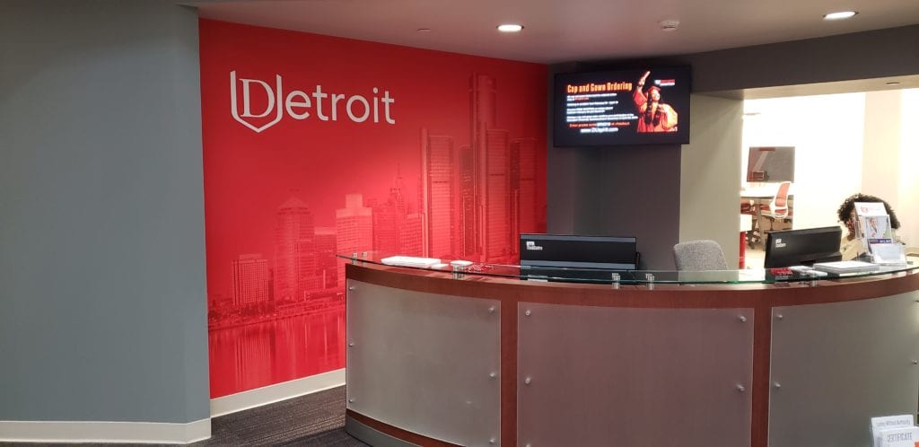 Davenport University Graphics Wall Vinyl