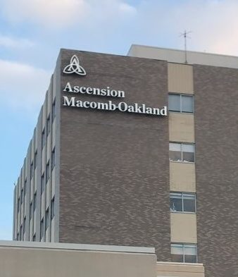 Ascension Macomb-Oakland Hospital Sign Channel Letters and logo