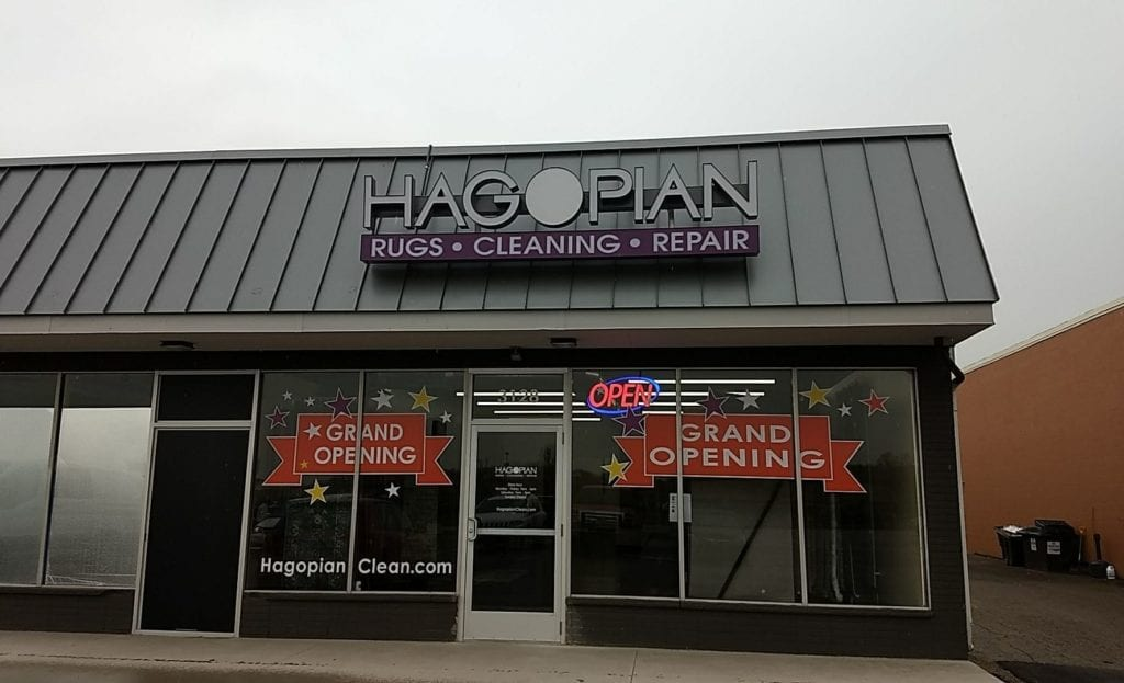 Hagoplan Rugs and Cleaning Channel Letters and Capsule in Grand Rapids