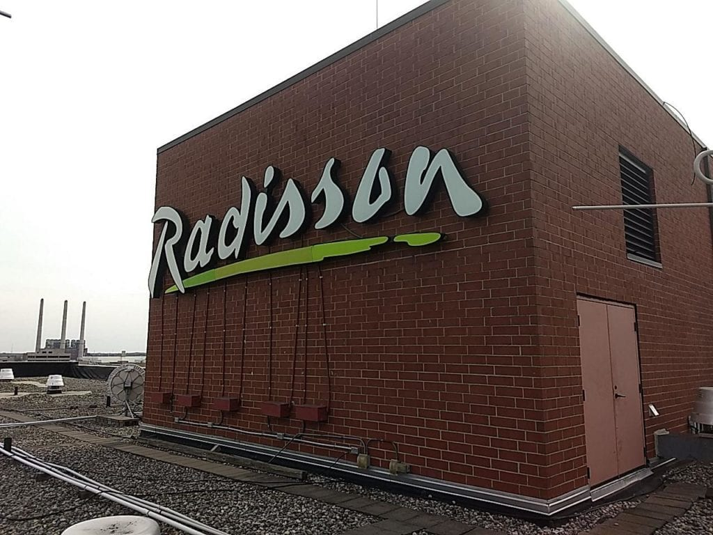 Radisson Channel Letters