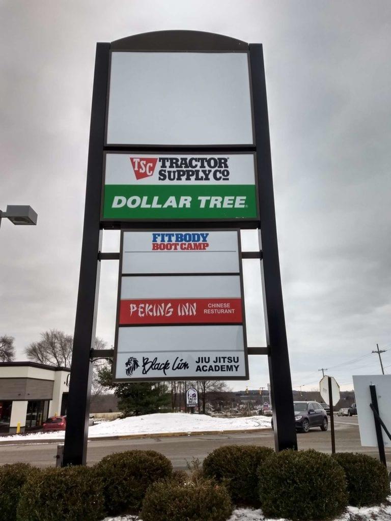 Plaza Sign Grand Rapids MI