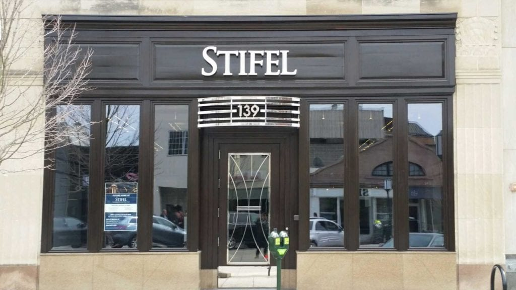 Stifel Building Front Letters