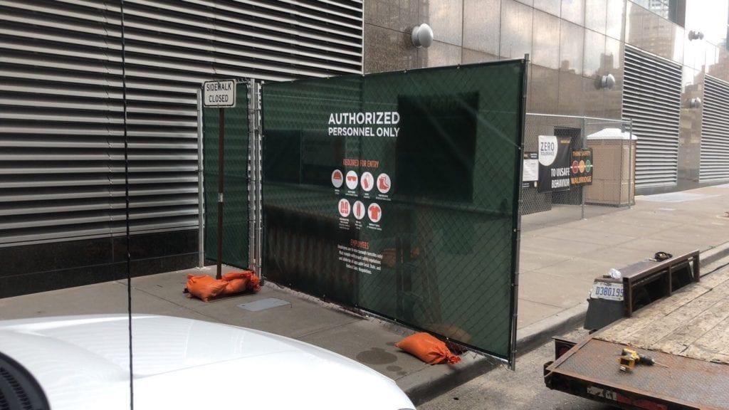 BEDROCK- GATE BARRIER SIGNAGE in Detroit