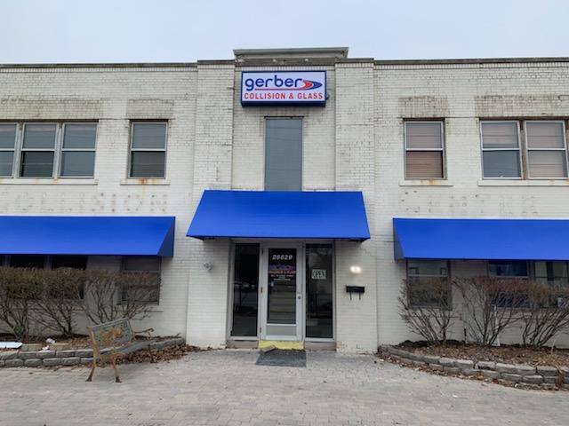 Gerber Exterior Box sign wall building mounted signage