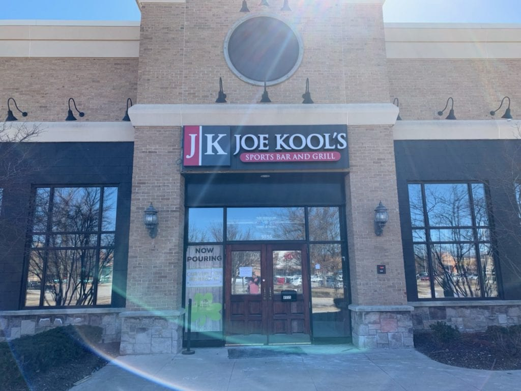 Joe Kools Exterior Sign