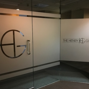 Custom Vinyl Wall window Graphics prints logo perforated reflective