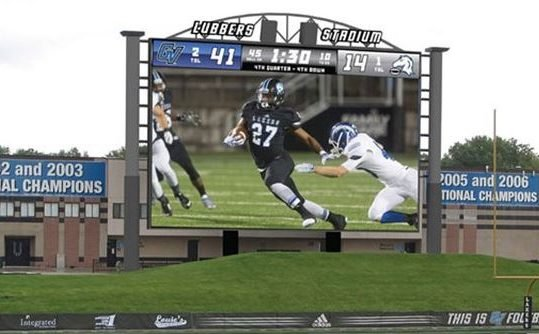 Grand Valley State University- Lubbers Stadium LED EMC Digital Screen