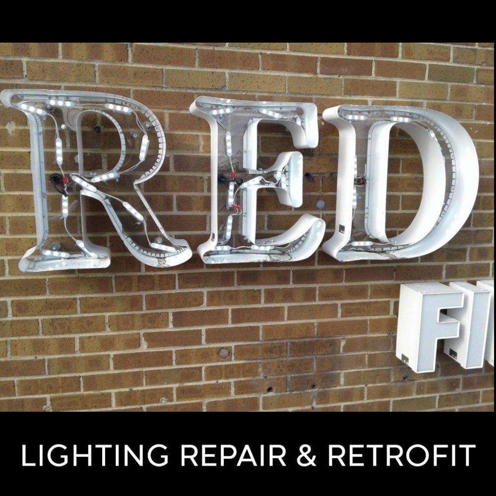 Lighting Repair & Retrofit
