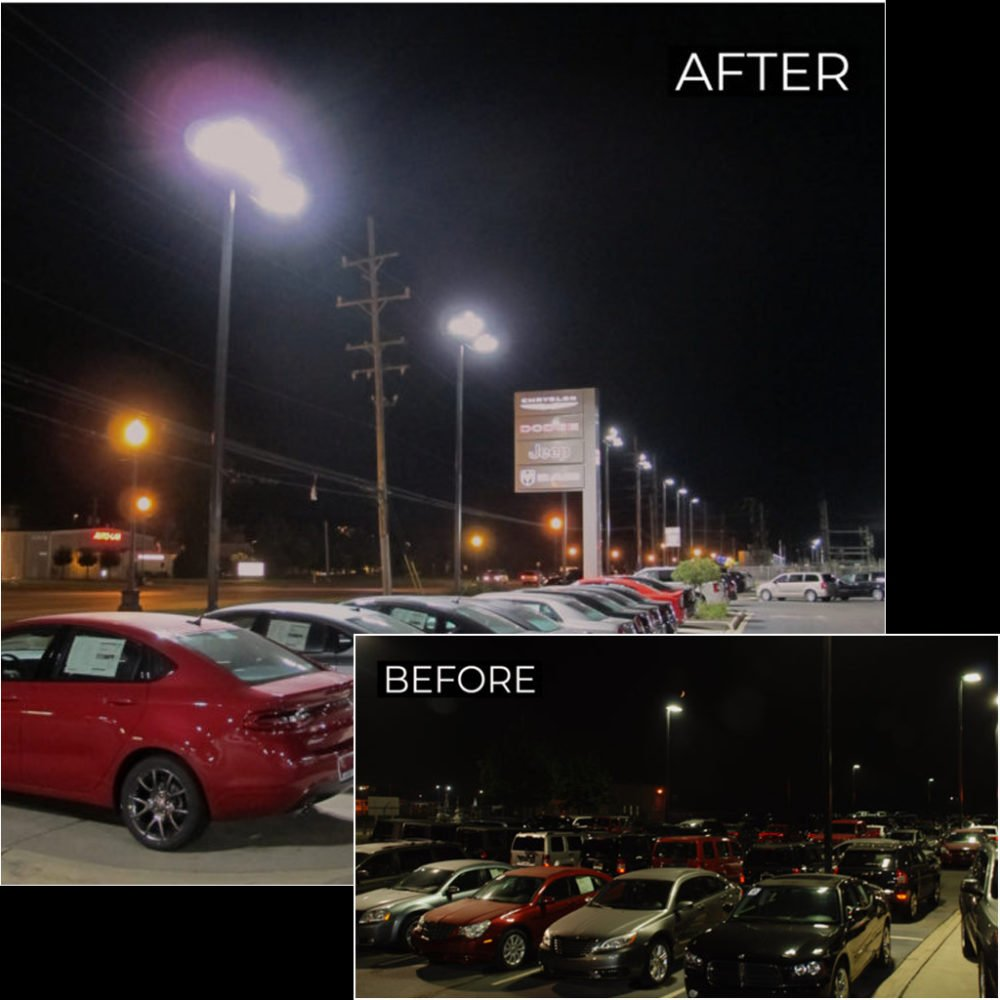 Before & After Parking Lights