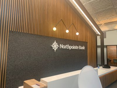 NorthPoint Bank Interior Letters