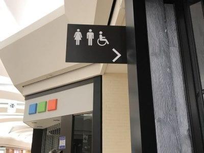 Woodland Mall Interior Wayfinding SIgnage